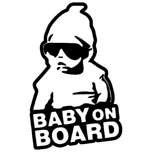 Nalepka BabyOnBoard