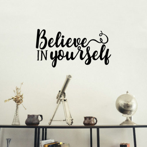 Nalepka Believe