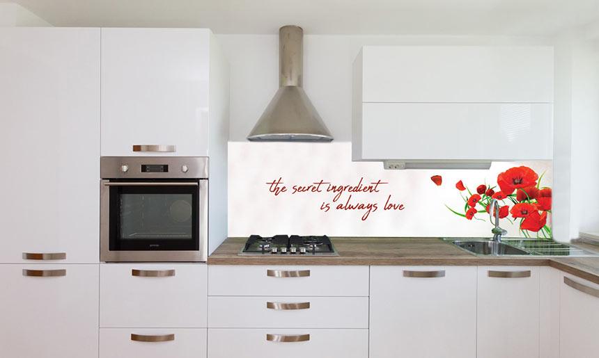 Kuhinjska fototapeta / Kuhinjska steklena obloga - vzorec