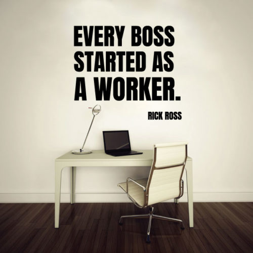 Nalepka Boss