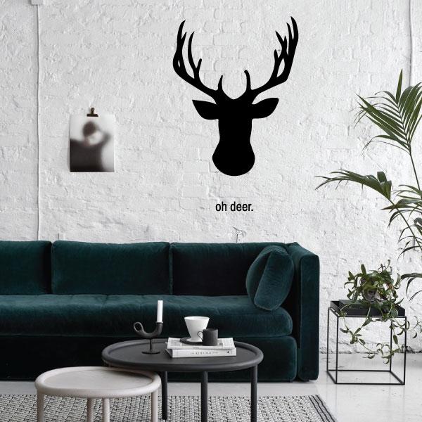 Nalepka Deer