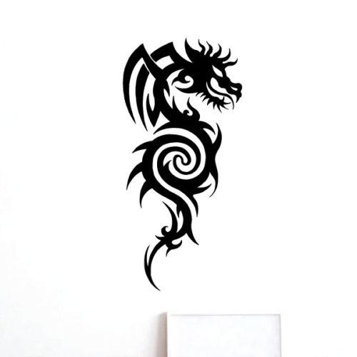 Nalepka Dragon