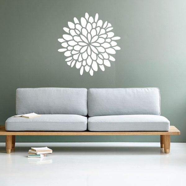 Nalepka Flower
