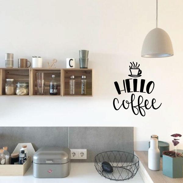 Nalepka Hellocoffee