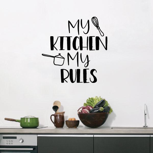Nalepka Kitchenrules