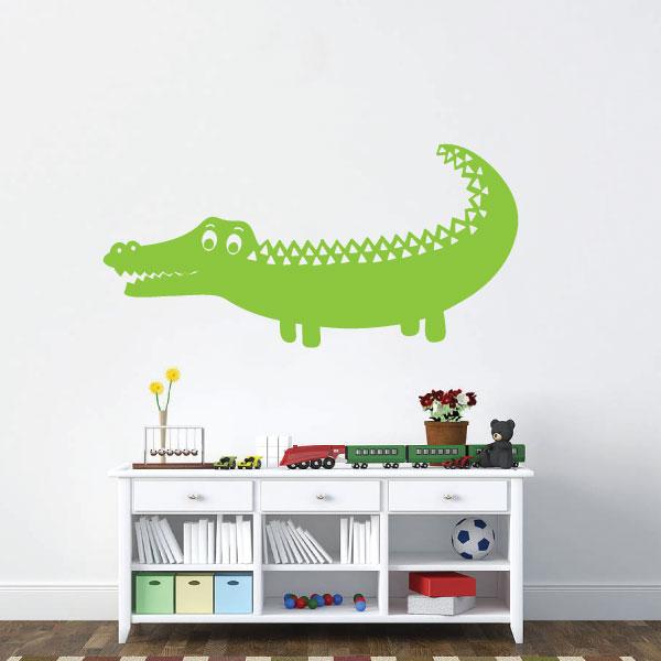 Nalepka Krokodil