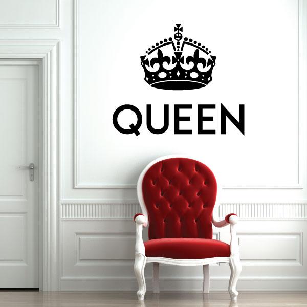 Nalepka Queen