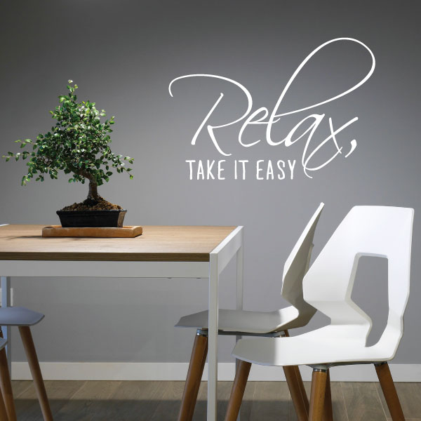 Nalepka Relax