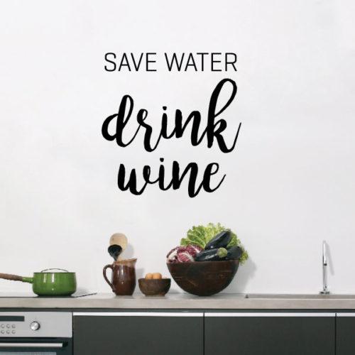 Nalepka Savewater
