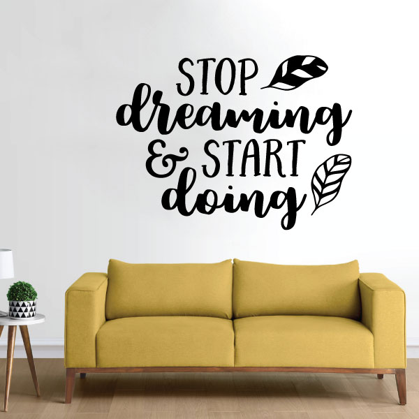 Nalepka Stopdreaming