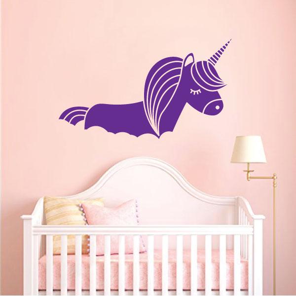 Nalepka Unicorn