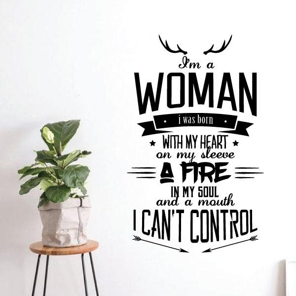 Nalepka Woman
