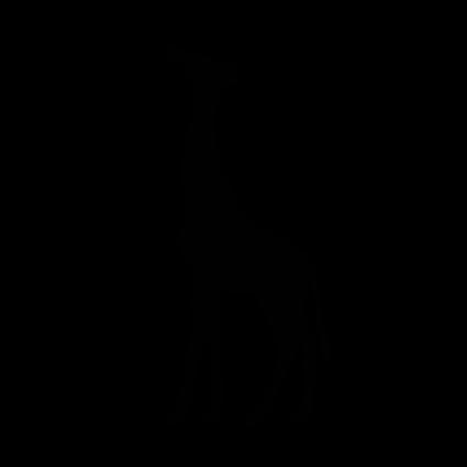 Nalepka Zirafa